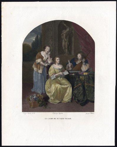 Antique Master Print-MUSIC ()