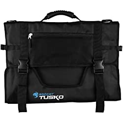 ROCCAT TUSKO Widescreen Gaming Bag Designed for up to 24-Inch Flatscreen Monitors, Black