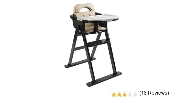 Amazon.com : Scandinavian Child Anka Convertible High Chair In Espresso :  Childrens Highchairs : Baby