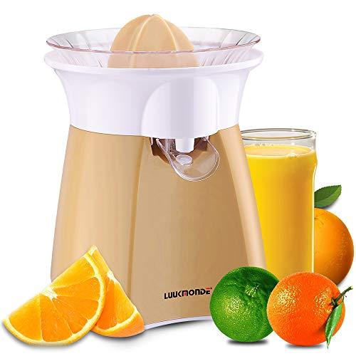 Electric Citrus Juicer Grapefruit Squeezer orange juicer lemon Squeezer Pulp Control Motorized Citrus Limes Extractor Press by LUUKMONDE¡