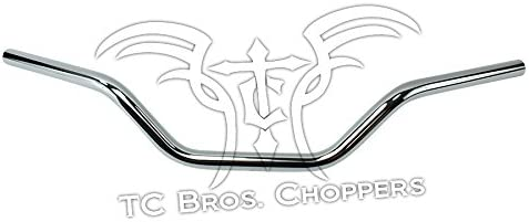 Chrome Smooth TC Bros 1 Tracker Handlebars