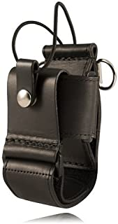 product image for Boston Leather Firefighter's Adjustable Radio Holder
