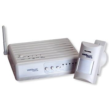 Amazon.com: Voice Alert System-6 Home/driveway Alarm: Patio, Lawn ...