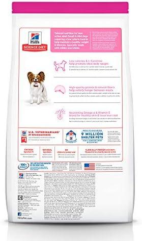 Hill's Science Diet, Alimento para Perro Adulto Raza Pequeña Light, Seco (bulto) 7kg 3