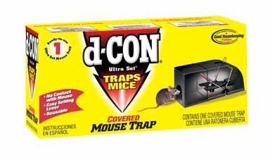 d-CON mouse trap review