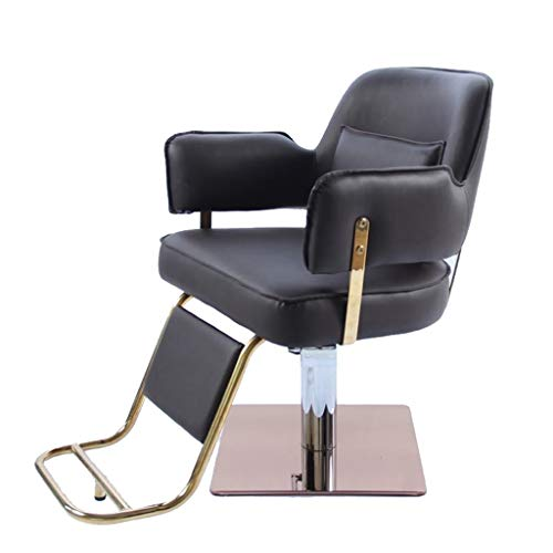 Barber chair DOOST Barber supplies tilt salon chair with high density sponge. Classic design of the barber shop. Suitable for hairdressers, beauty salons, tattoo shop equipment