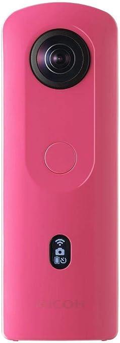 Ricoh Imaging Ricoh Theta Sc2 Pink 360 Kamera Mit Kamera