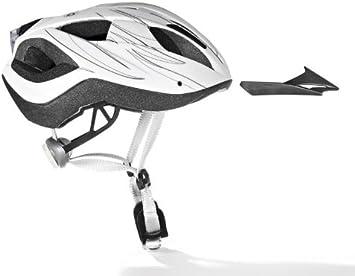 Adultos casco de bicicleta con luz trasera varios tamaños/colores ...