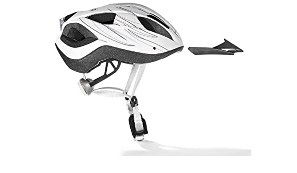 Adultos casco de bicicleta con luz trasera varios tamaños/colores, White - white: Amazon.es: Deportes y aire libre