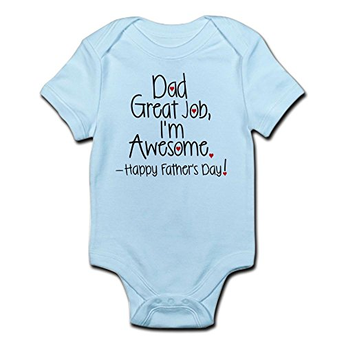 CafePress awesome Fathers Infant Bodysuit