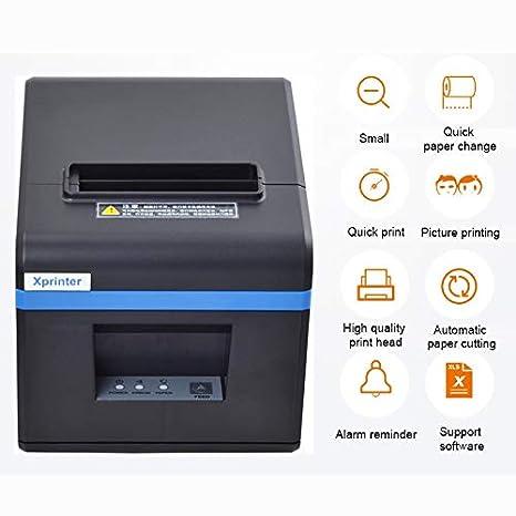 ZUZU Xprinter XP-N160II Puerto USB Impresora de código de ...