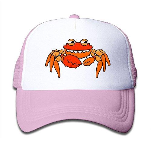 Cheap DNUPUP Kid's Cute Cartoon Crab Adjustable Casual Cool Baseball Cap Mesh Hat Trucker Caps for cheap
