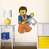 LEGO The Movie 2 Emmet Staticker