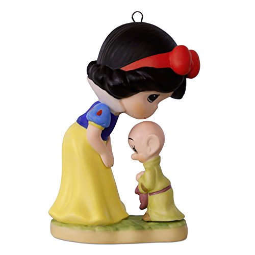 2017 Precious Moments Disney Snow White and Dopey Ornament