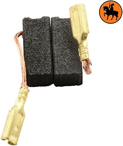 Balais de Charbon pour METABO SE 4431 R+L viseusse 2.0x2.4x5.9 Avec arr/êt automatique 5x6,3x15mm