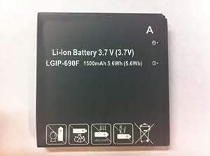 LG LGIP-690F batería recargable - Batería/Pila recargable (Navegador/computadora móvil de mano/ teléfono móvil)