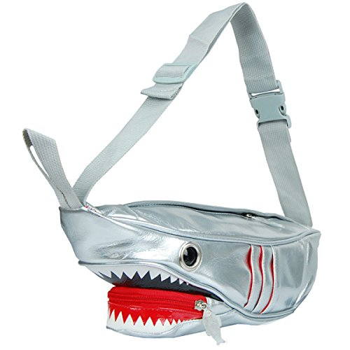 Yy.f Nuevo Bolsas Pecho De Los Hombres De Tiburón Personalizados Bolsas De Ocio Bolsas Femenina Modelos De Pareja Charol Y La Bolsa Duradera Multicolor B