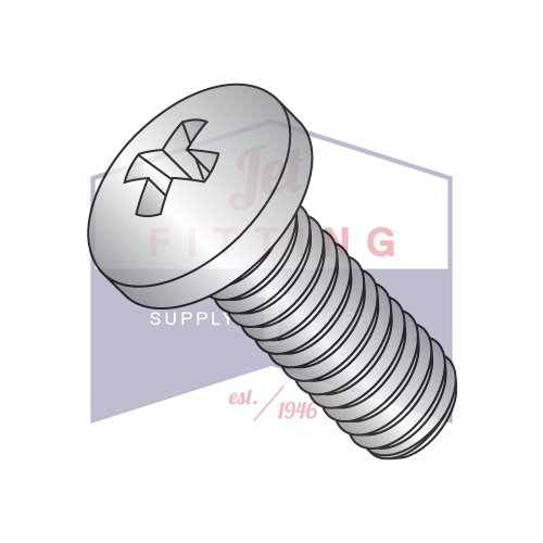 MS51958-120 / 0-80 x 1/8'' Mil-Spec Machine Screws / Phillips / Pan / 18-8 Stainless Steel / DFAR Compliant (QUANTITY: 5,000 pcs) Made in USA