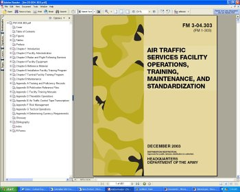 u s army fm 3 04 303 air traffic control services facility rh amazon ca Army Training Manual Army Training Manual