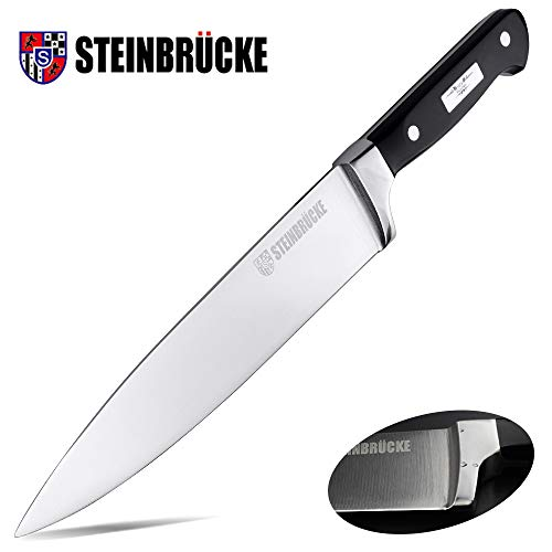 Kitchen Knife 8 inch Best Quality German Stainless Steel Forged Chef Knife made of German 5Cr15Mov Hand Polished Handle with Finger Guard