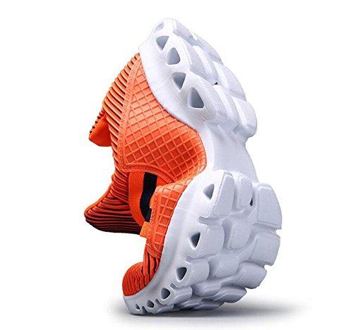 Zapatillas de deporte de los hombres de la manera de los pares de la primavera del resorte de los hombres Zapatos de los zapatillas de deporte del paño rayado de la manera Zapatos de baloncesto Zapato
