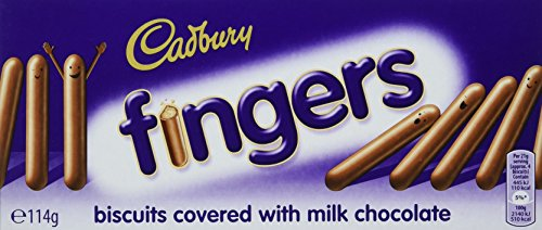 - Cadbury Milk Chocolate Fingers 114g - Pack of 2