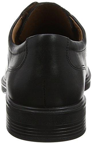 Ronan 001 Zapatos Hotter para Derby de Cordones Black Negro Hombre vFqRzqd