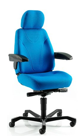 24/7 KAB Manager Chair In Xtreme Fabric Choice