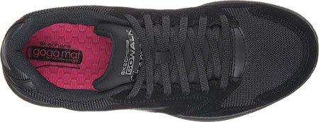 Skechers GOwalk Ciudad Champion–Zapatillas Mujer, color negro