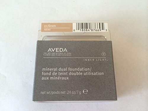 Aveda Inner Light Mineral Dual Foundation Refill – 03 Linen – 7g 0.24oz