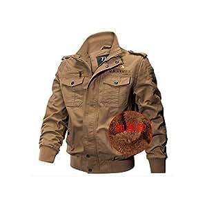 Amazon.com: Men's Jackets Fall Winter Military Coat Cotton
