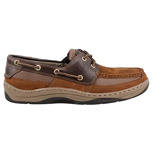 SPERRY Men's, Tarpon 2 Eye Boat Shoes Brown Multi 13 W