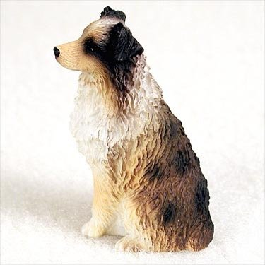 Brown Tiny One Figurine - Conversation Concepts Australian Shepherd Brown W/Docked Tail Tiny One Figurine