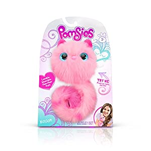 Pomsies 1879 Blossom Plush Interactive Toys, One Size, Pink by Skyrocket
