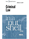 Criminal Law in a Nutshell, 5th