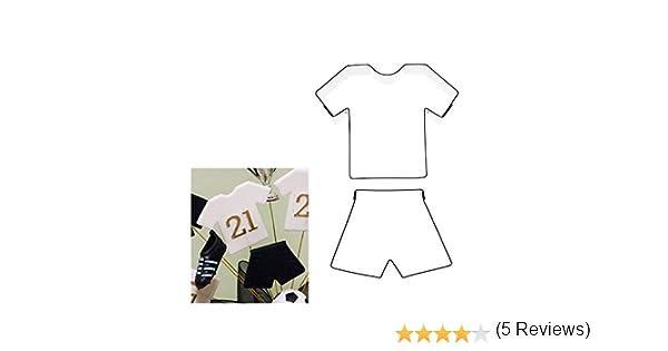 Kit Box Cutter - Moldes para decoración de repostería, diseño de uniforme de fútbol: Amazon.es: Hogar