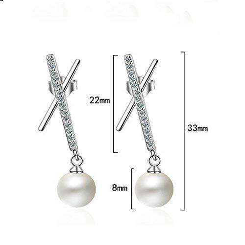 Geometric Dangle Earrings Ear Jewelry For Women Gift Eardrop Pearl Earrings