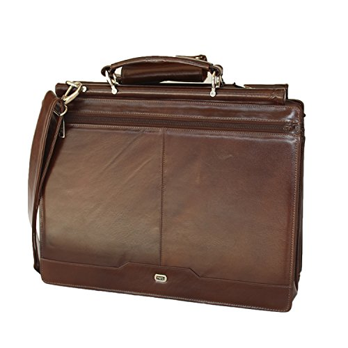 823de8e6fa2a Leather briefcase by Yeti Leather
