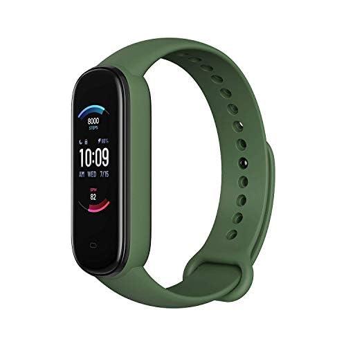 chollos oferta descuentos barato Amazfit Banda 5 Rastreador de ejercicios con Alexa incorporada Duración de la batería de 15 días Oxigeno en sangre Ritmo cardiaco Monitoreo del sueño Seguimiento de la salud de la mujer Pantalla
