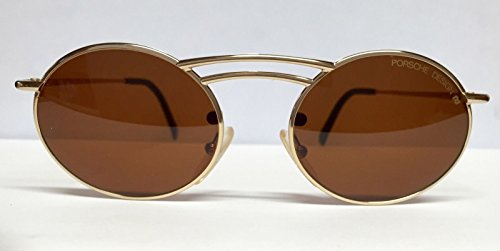Rare 80'S Vintage Porsche Design 5689 Gold/Brown 40 With Magnetic Reading - Carrera Reading Glasses