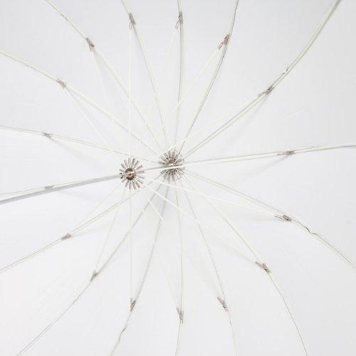 UNPLUGGED STUDIO 70inch White Umbrella (16 Fiberglass Ribs) by UNPLUGGED STUDIO (Image #2)