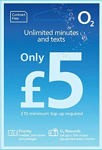 O2 - Tarjeta SIM de prepago para iPhone 5: Amazon.es: Electrónica