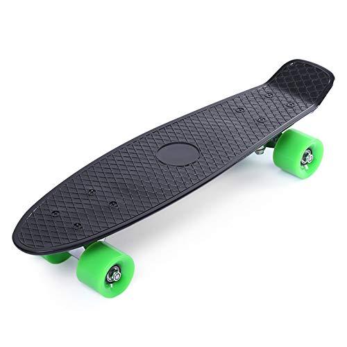 22 Inch Classic Retro Mini Cruiser Complete Skateboard Long Board Teenager Cool Street Style Skateboard 11 Colors C -