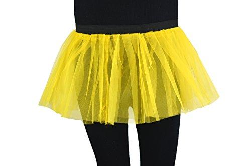 Soleil2012 - Falda - enaguas - para mujer amarillo