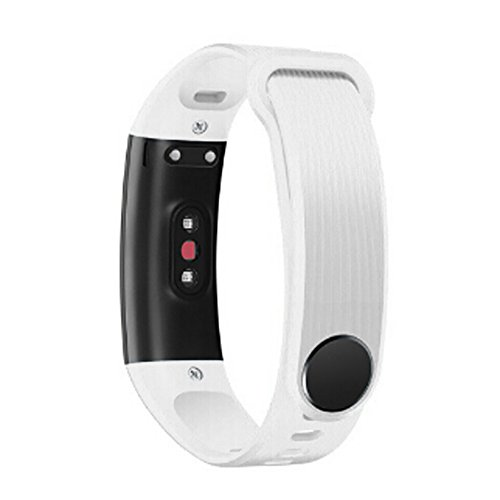 Clearance Sale!DEESEE(TM) New Fashion Sports Silicone Bracelet Strap Band for Huawei Honor 3 Smart Watch (White)