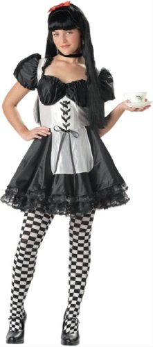 California Costume Malice in Wonderland 05024 (AS SHOWN,JUNIOR (3-5))