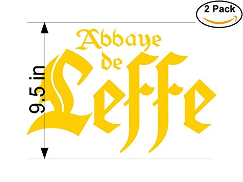 abbaye-de-leffe-beer-logo-alcohol-4-vinyl-stickers-decal-bumper-window-bar-wall-95-inches