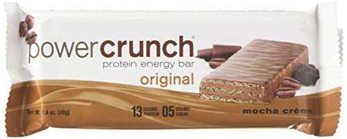 Bionutritional Power Crunch Bars Mocha Creme, 1.4 oz, 12 Bars