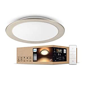 Philips Hue white ambiance Muscari LED Ceiling Light (Smart lighting that is compatible with Amazon Alexa, Apple HomeKit and The Google Assistant)