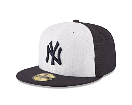 MLB New York Yankees Men's Diamond Era 59FIFTY Cap, 7, Blue